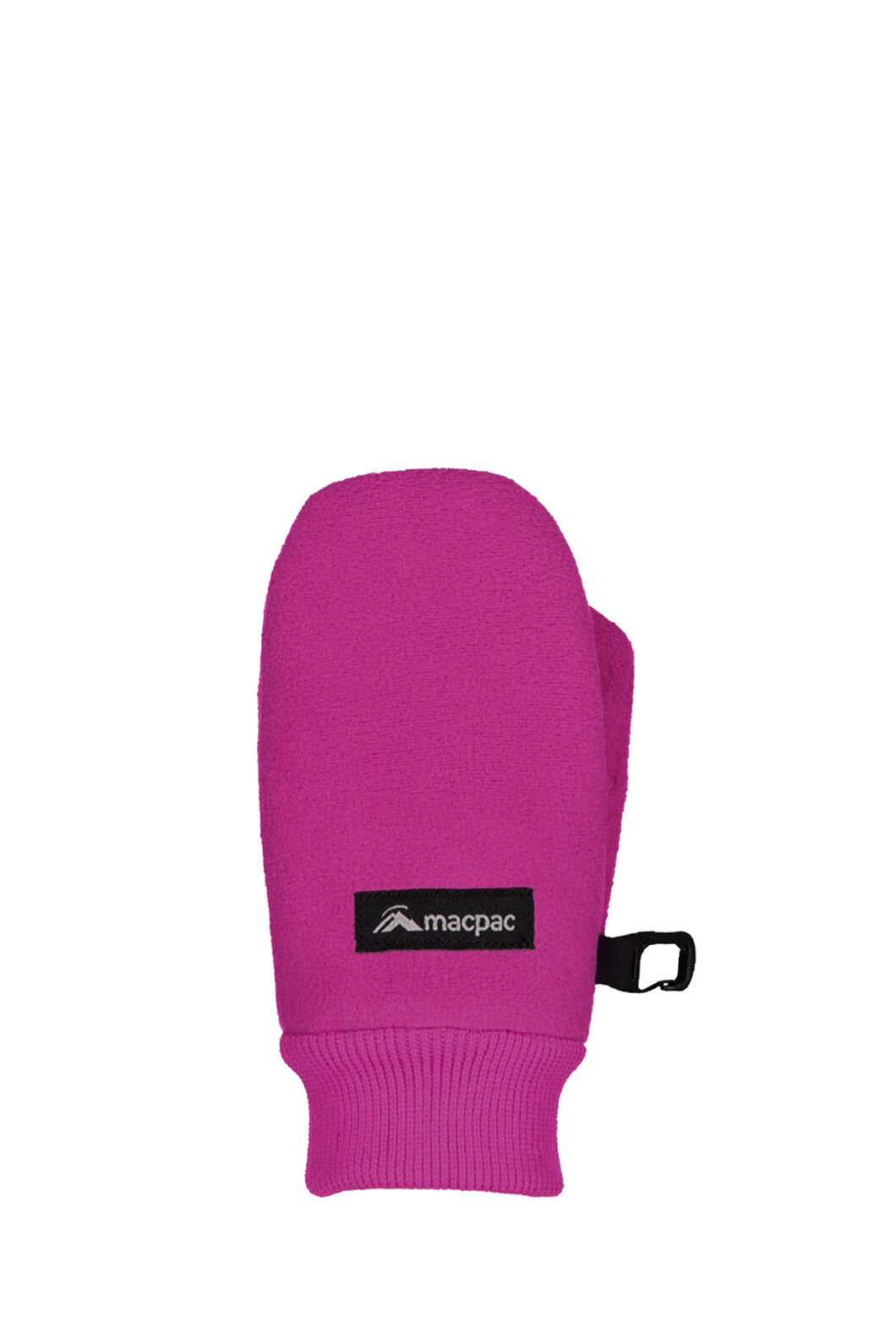 Macpac Fleece Mittens - Kids', Very Berry, hi-res