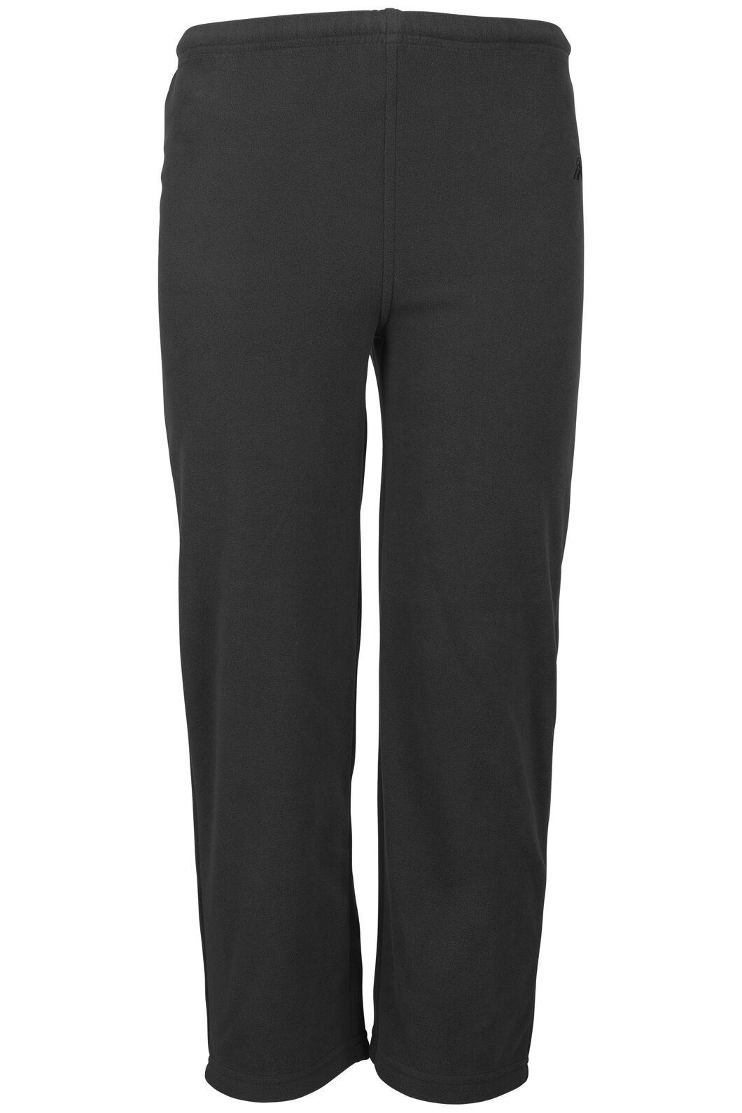 Macpac Pepe Fleece Pants - Kids', Black, hi-res