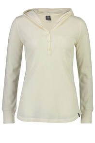Waffle Henley - Women's, Antique White, hi-res