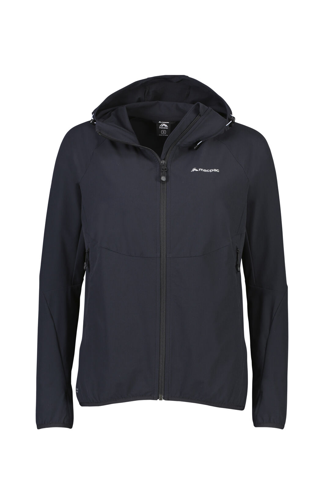 Macpac Mannering Hooded Jacket - Women's, Black, hi-res