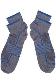 Macpac Merino Blend Quarter Socks 2 Pack, Grey Marle, hi-res