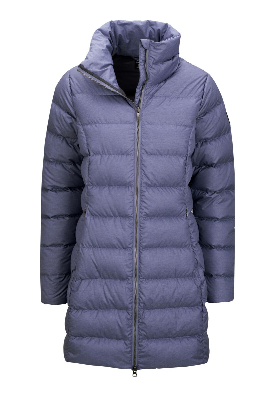 Macpac Demi Down Coat — Women's, Blue Granite Melange, hi-res