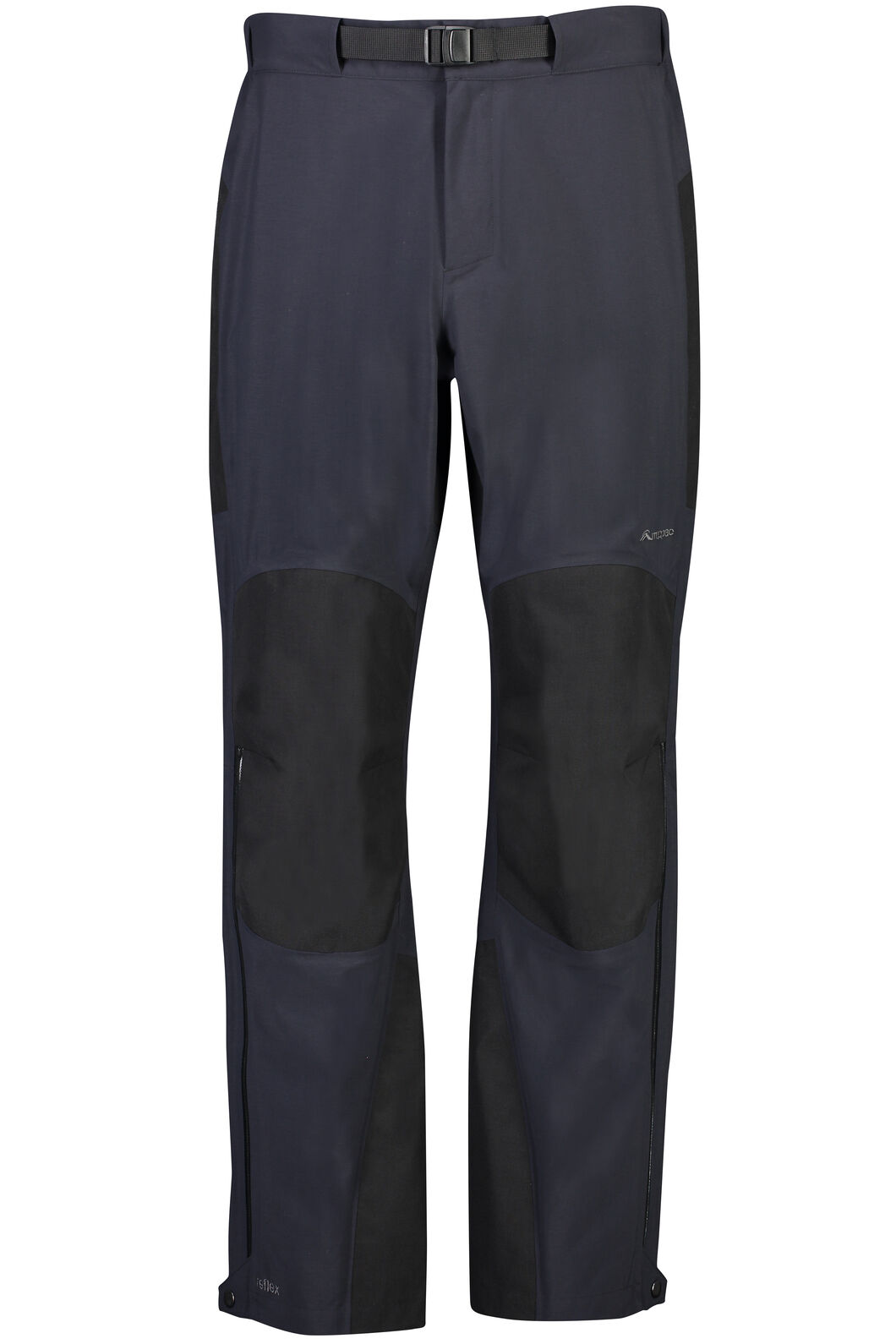 Macpac Gauge Rain Pants - Men's, Black, hi-res