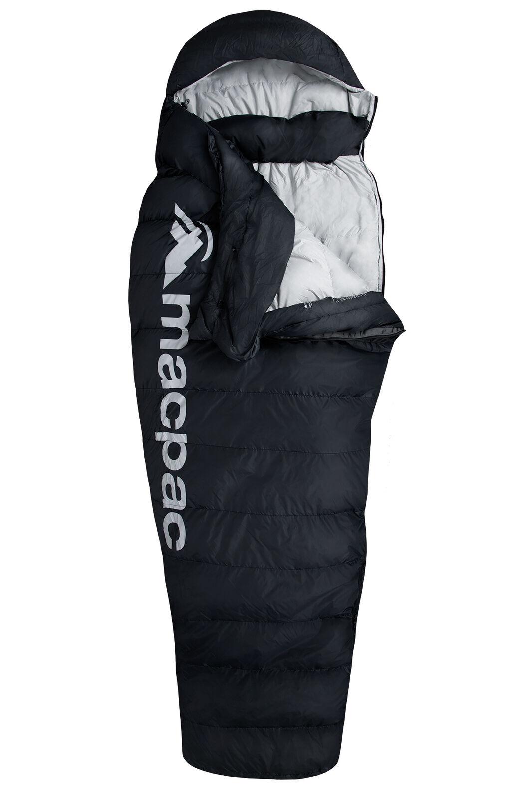 Macpac Overland Down 400 Sleeping Bag - Women's, Black, hi-res