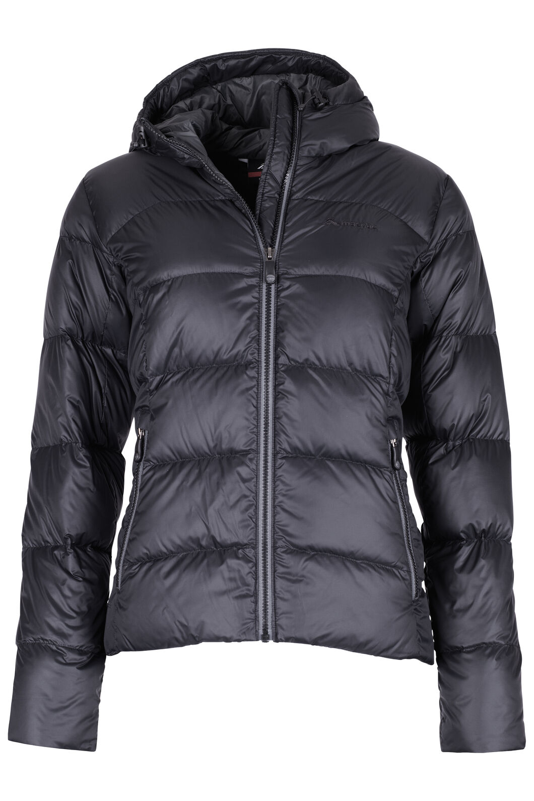 Macpac Sundowner Hooded HyperDRY™ Down Jacket - Women's, Black, hi-res