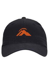 Macpac Vintage Cap, Black/Orange, hi-res