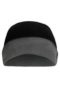 Macpac Merino Blend Reversible Beanie, Black/Grey, hi-res