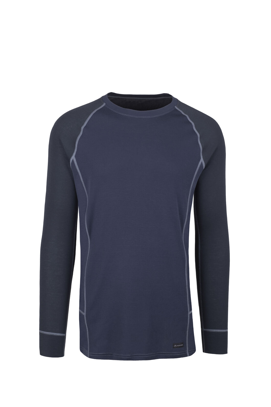 Macpac Geothermal Long Sleeve Top — Men's, Salute/Mood Indigo, hi-res