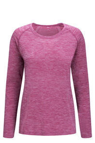 Macpac Limitless Long Sleeve Tee — Women's, Purple Orchid, hi-res