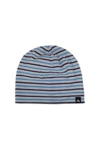 Macpac Baby 150 Merino Beanie, Blue Moon Stripe, hi-res