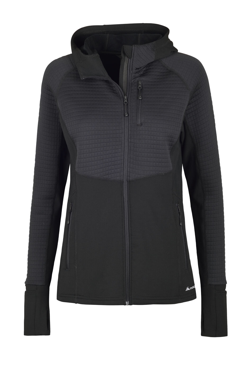 Macpac Delta Merino Blend Jacket — Women's, Black, hi-res