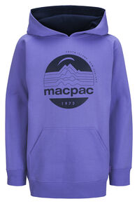 Macpac Fairtrade Organic Cotton Pullover Hoody — Kids' (V2), Aster Purple, hi-res