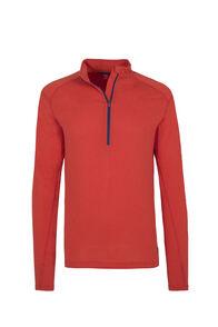 Macpac Prothermal Polartec® Long Sleeve Top — Men's, Molten Lava, hi-res