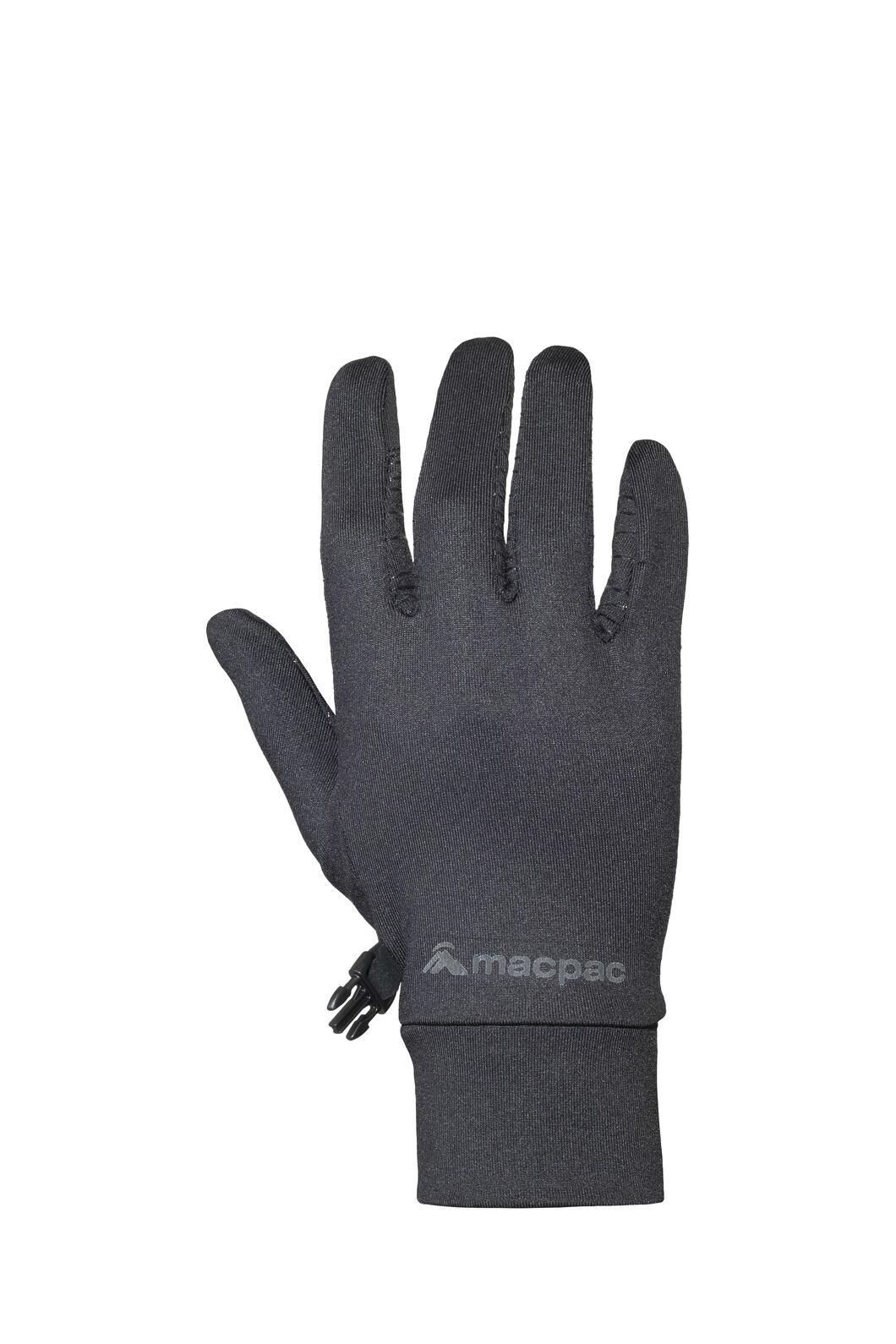 Macpac Performance Gloves, Black, hi-res