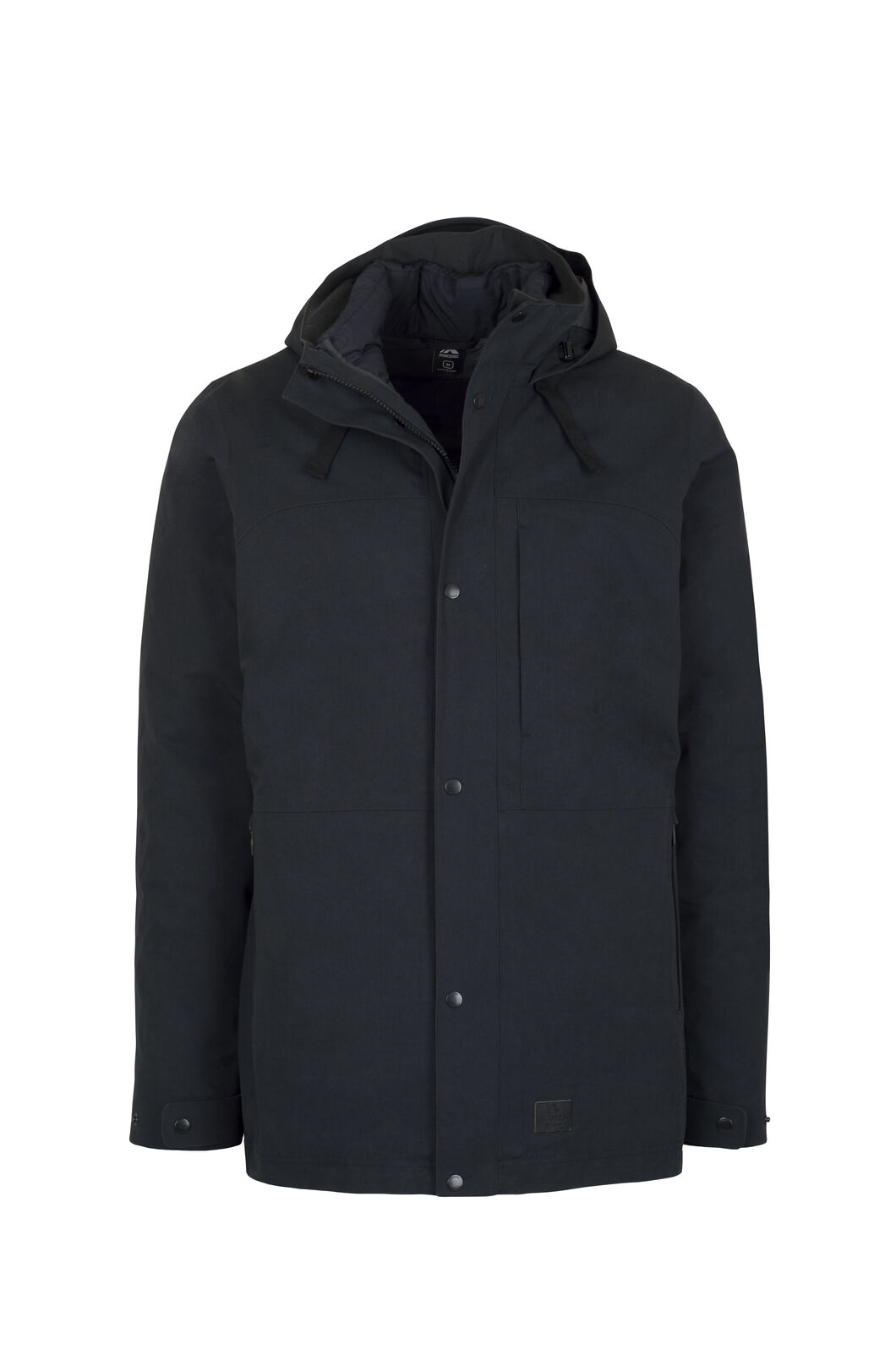 Macpac Element Three-In-One Pertex® Coat — Men's, Black, hi-res