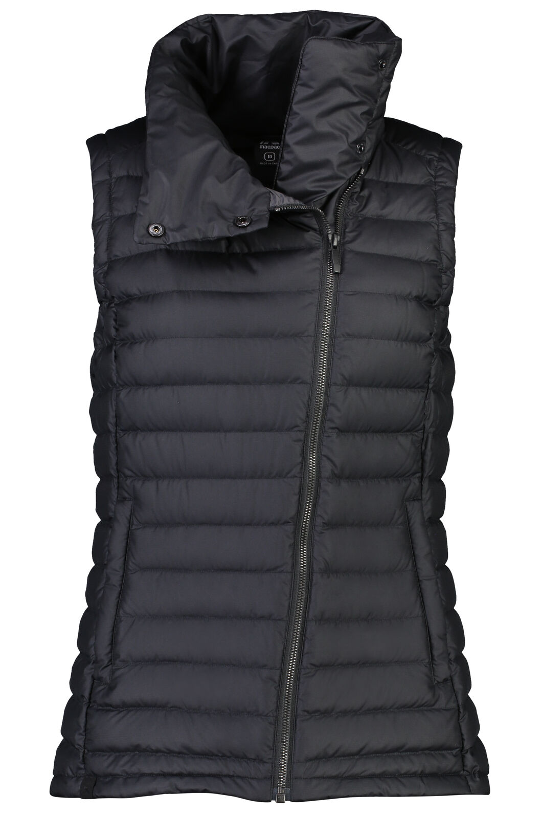 Macpac Demi Down Vest - Women's, Black, hi-res