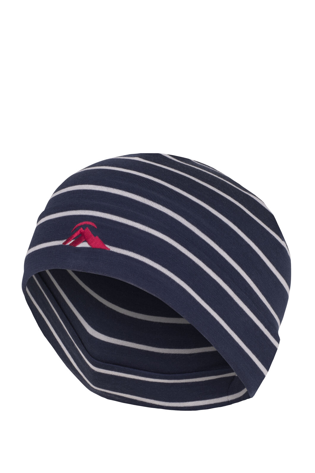 Macpac Merino 150 Beanie, Black Iris Stripe, hi-res