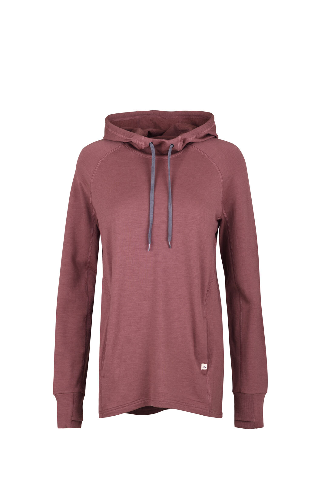 Macpac Lucille Merino Hooded Pullover — Women's, Wild Ginger, hi-res