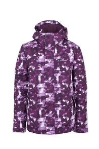 Macpac Spree Ski Jacket - Kids', Purple Print, hi-res