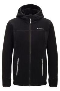 Macpac Kids' Mini Mountain Hooded Jacket, Black/High RIse, hi-res