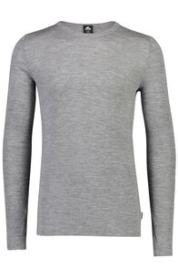 220 Merino Long Sleeve Top - Men's, Grey Marle, hi-res