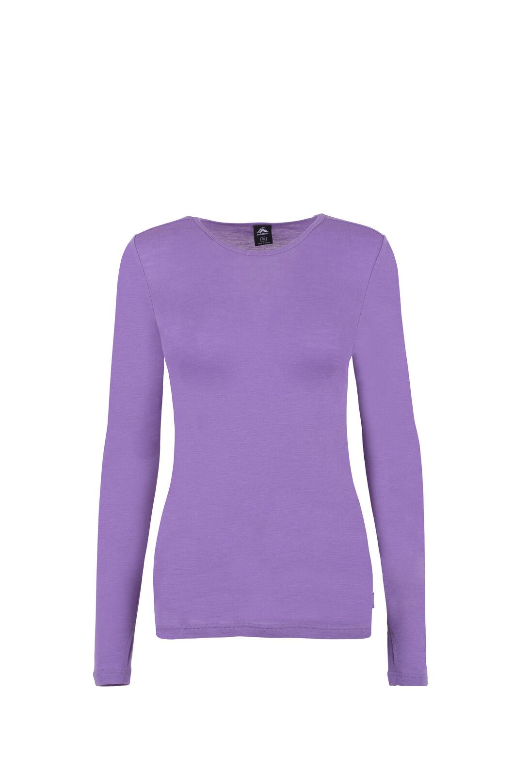 Macpac 220 Merino Top - Women's, Lavender, hi-res