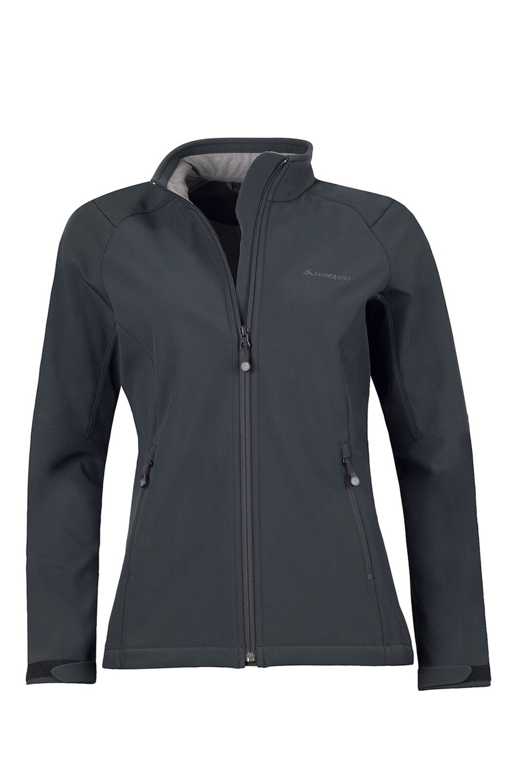 Macpac Sabre Softshell Jacket — Women's, Black, hi-res