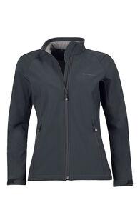 Macpac Sabre Softshell Jacket — Women's, Black, hi-res