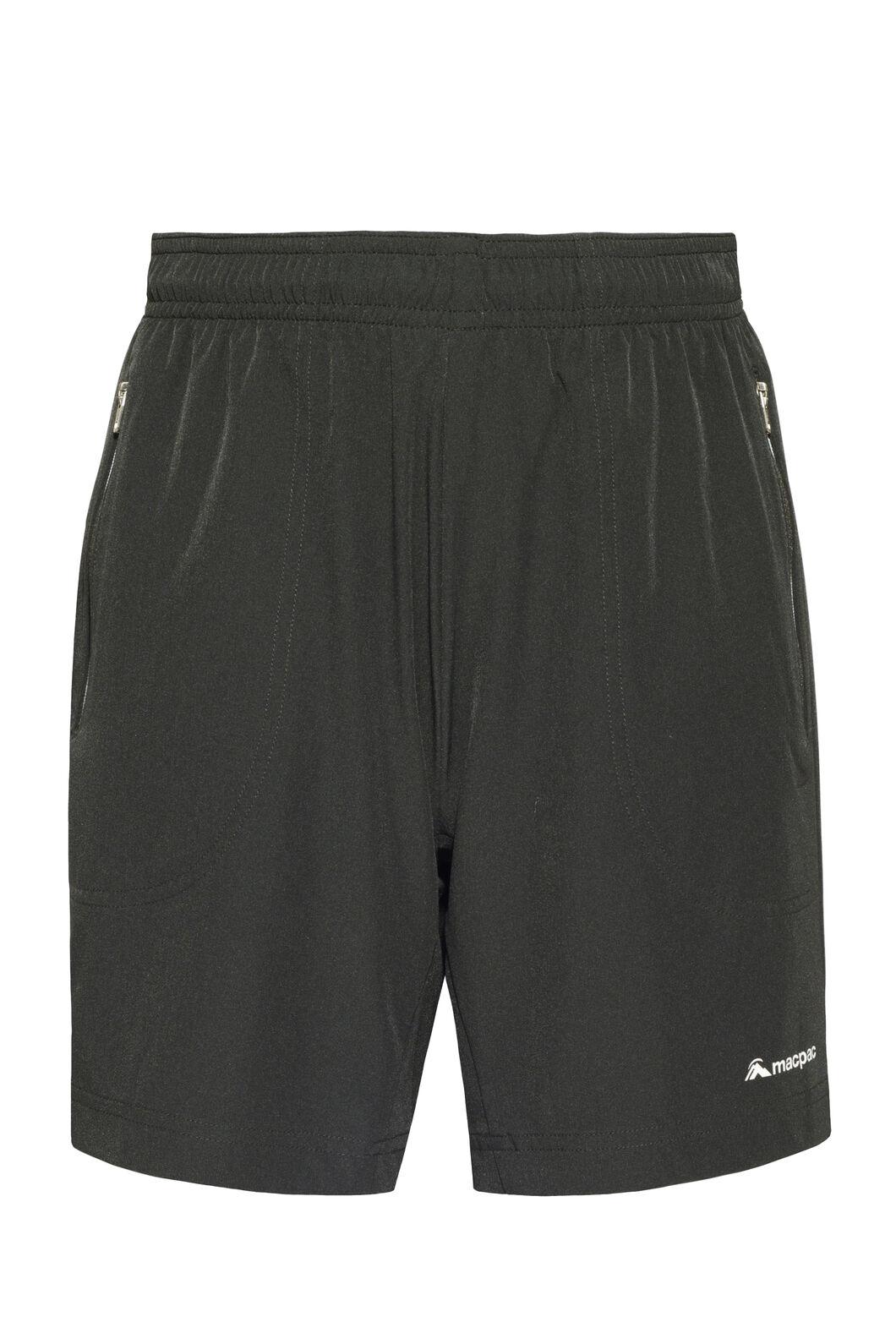 Macpac Fast Track Shorts — Kids', Black, hi-res
