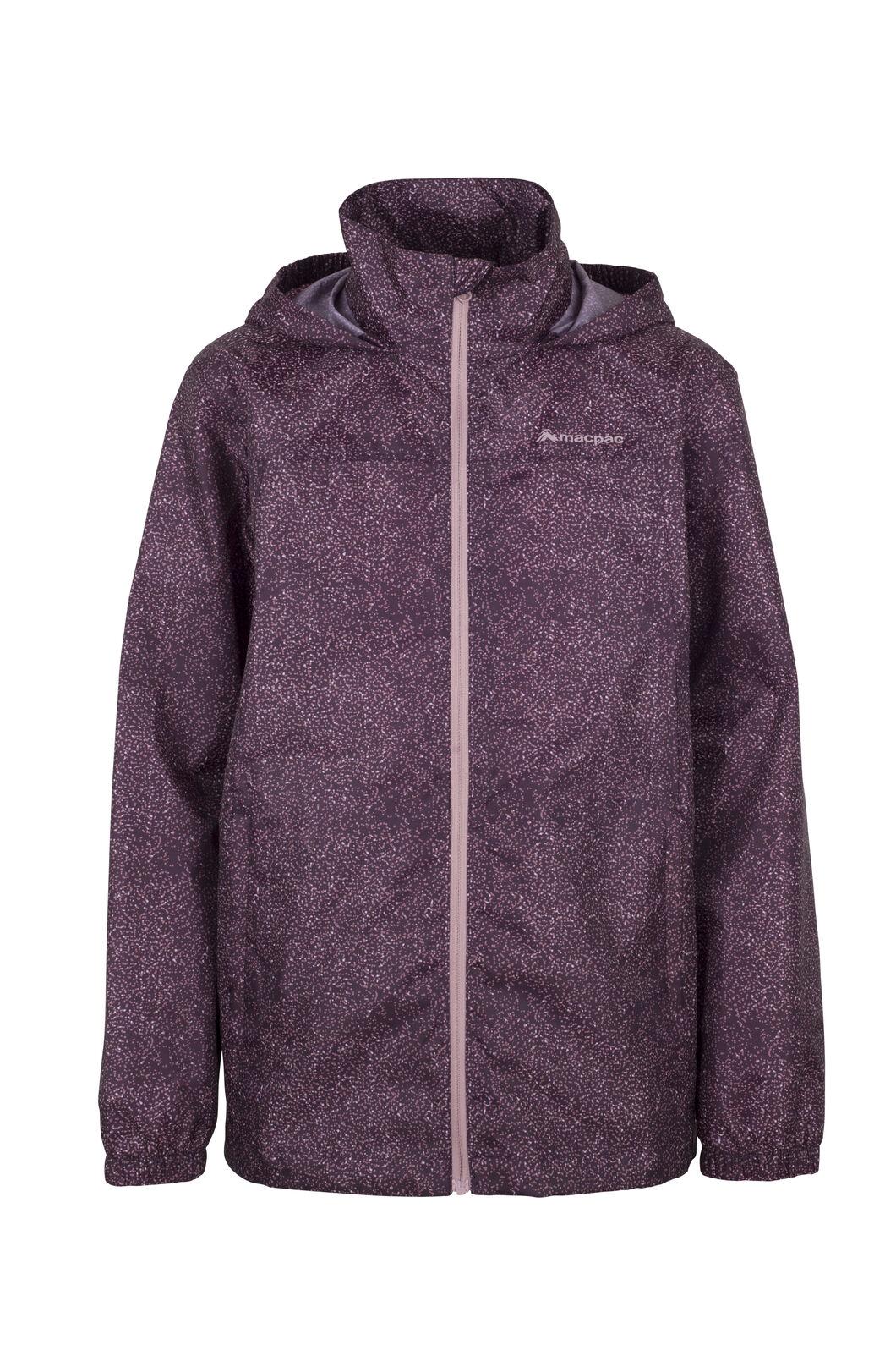 Macpac Pack-It-Jacket - Kids', Purple/Speckle, hi-res