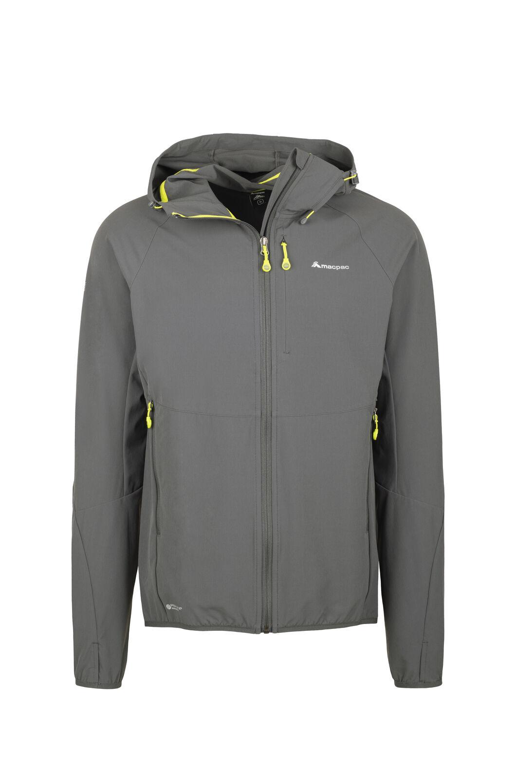 Macpac Mannering Hooded Jacket - Men's, Asphalt, hi-res