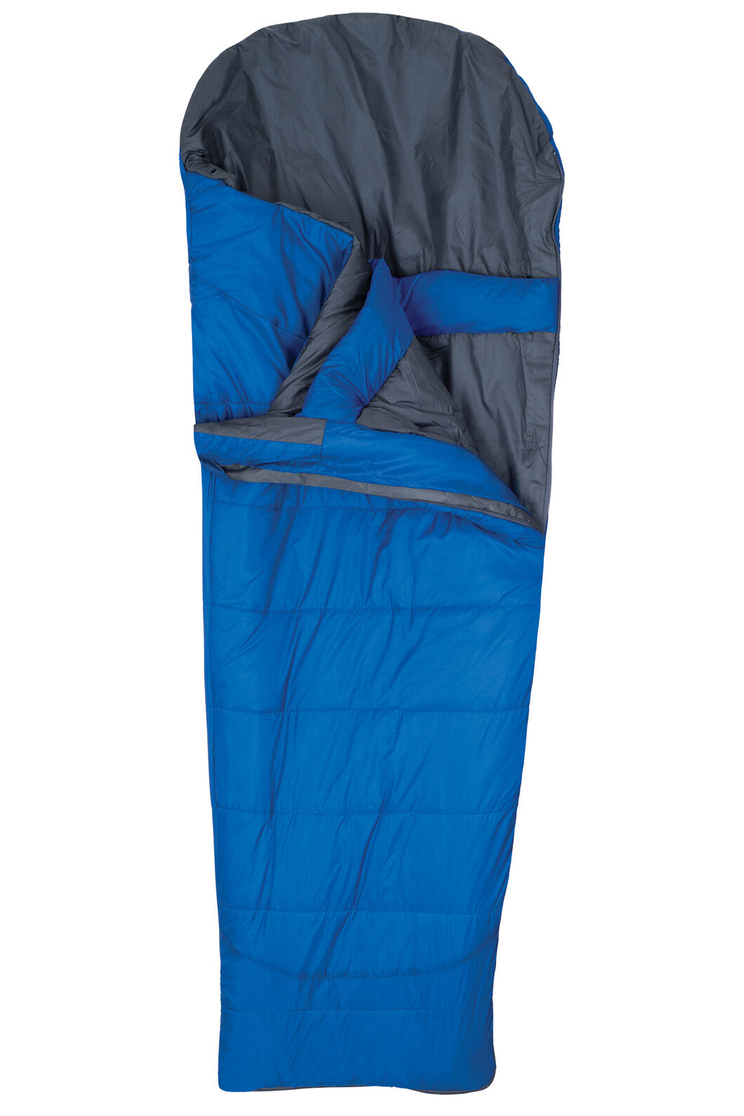 Macpac Roam Synthetic 150 Sleeping Bag - Extra Large, Victoria Blue, hi-res