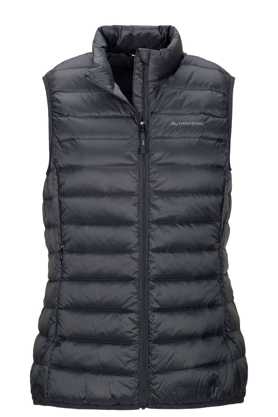 Macpac Uber Light Down Vest — Women's, Black, hi-res