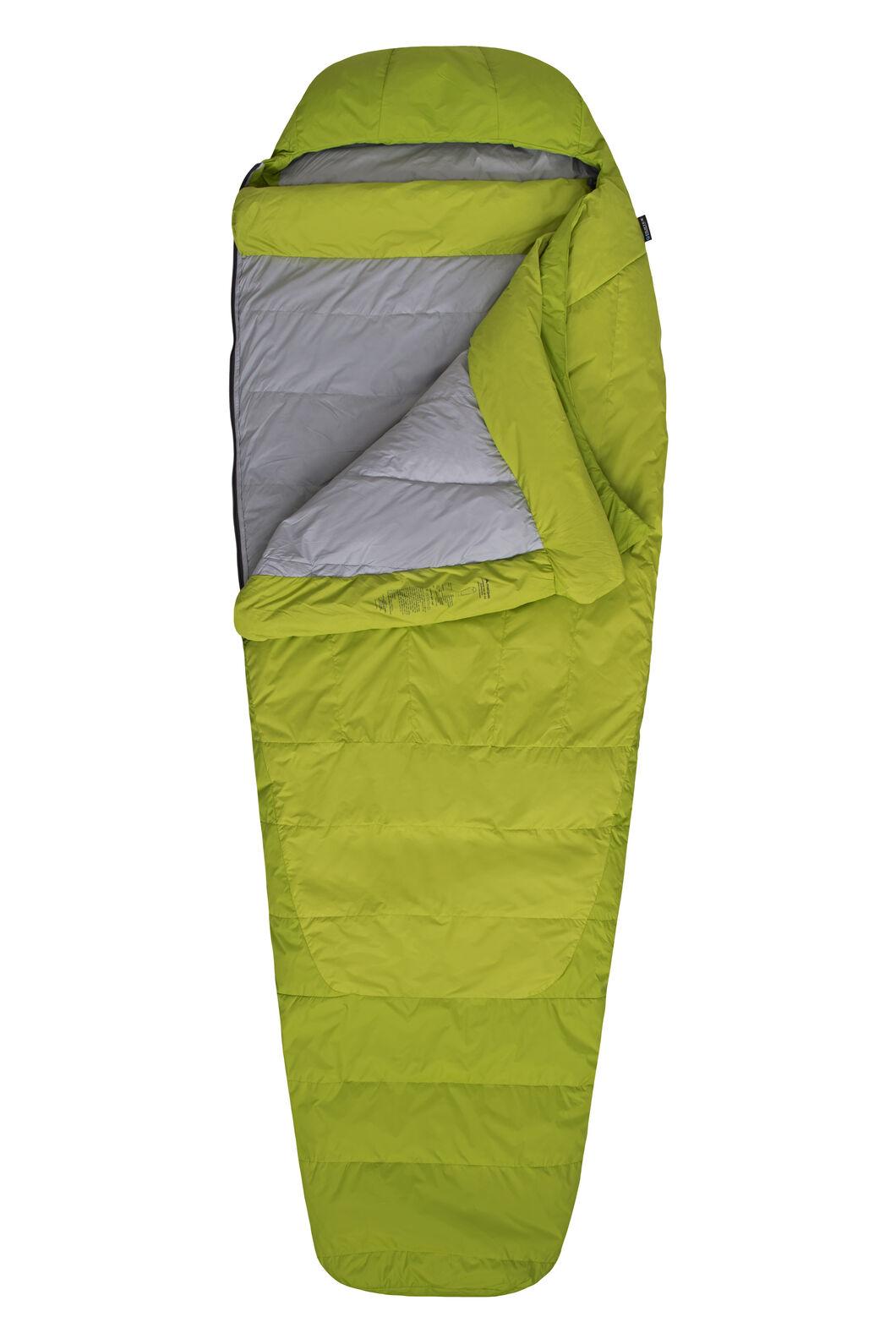 Macpac Latitude XP Goose Down 500 Sleeping Bag - Women's, Tender Shoots, hi-res