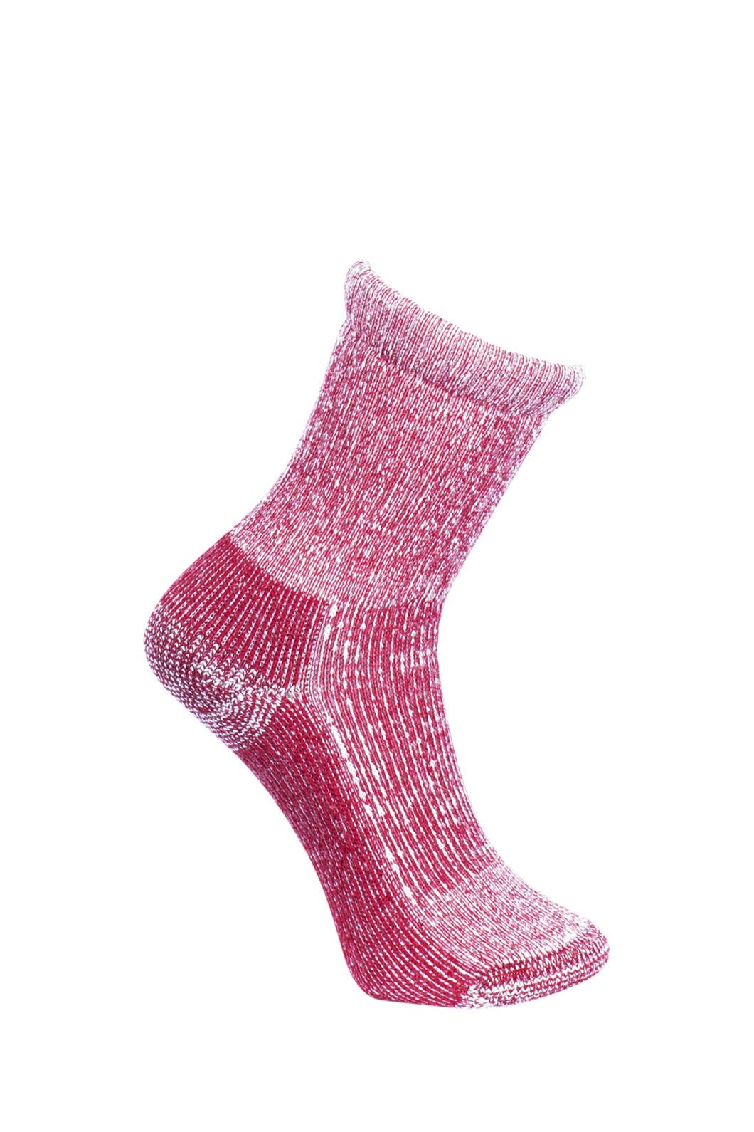 Macpac Winter Hiker Socks — Kids', Red, hi-res