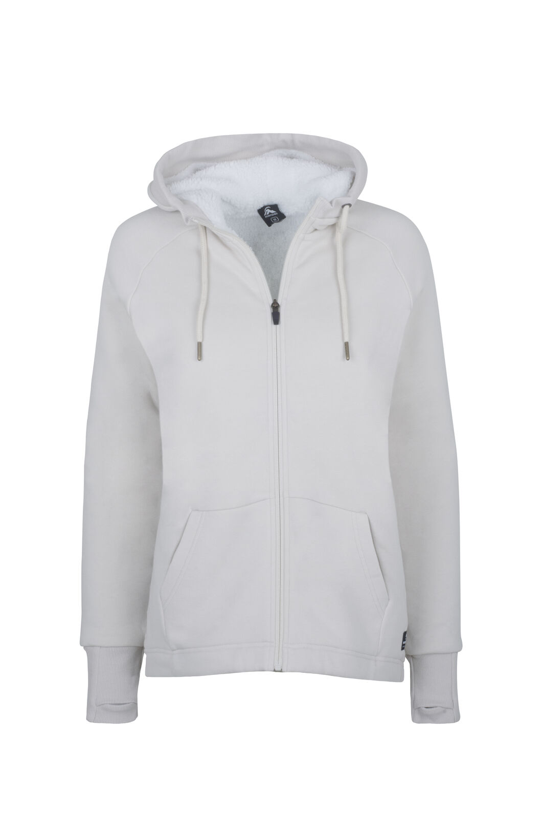 Macpac Sherpa Hoody - Women's, Moonbeam Marle, hi-res