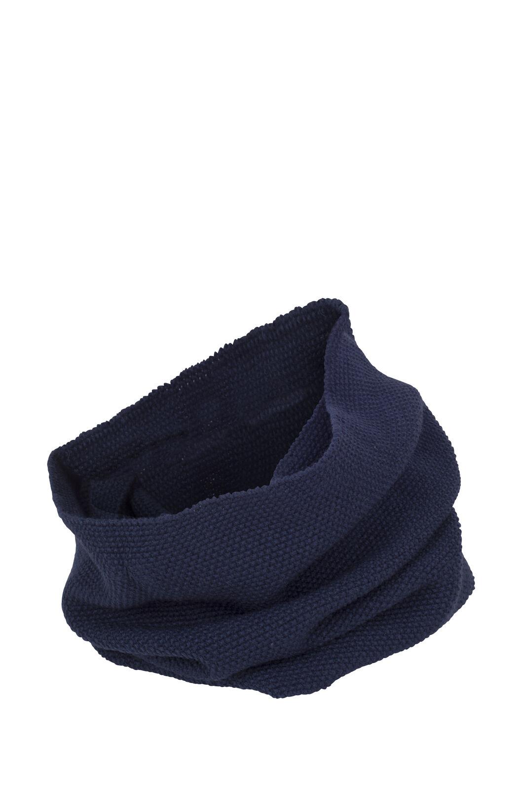 Macpac Pearl Knit Infinity Scarf, Black Iris, hi-res