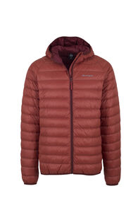Macpac Uber Hooded Down Jacket - Men's, Red Ochre, hi-res