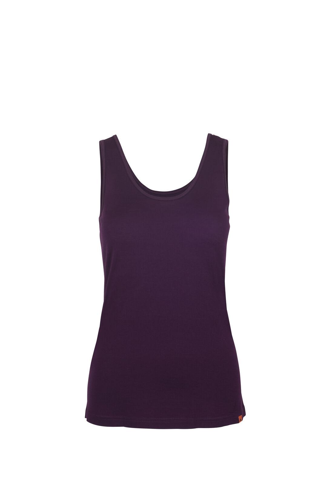 Macpac 150 Merino Singlet - Women's, Potent Purple, hi-res