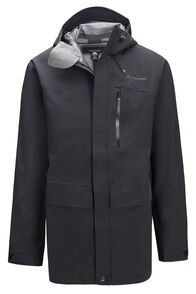 Macpac Resolution Pertex® Rain Jacket — Men's, Black, hi-res