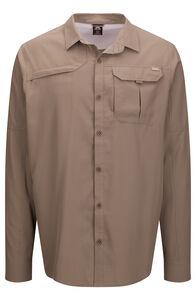 Macpac Men's Ranger Long Sleeve Shirt, Fallen Rock, hi-res