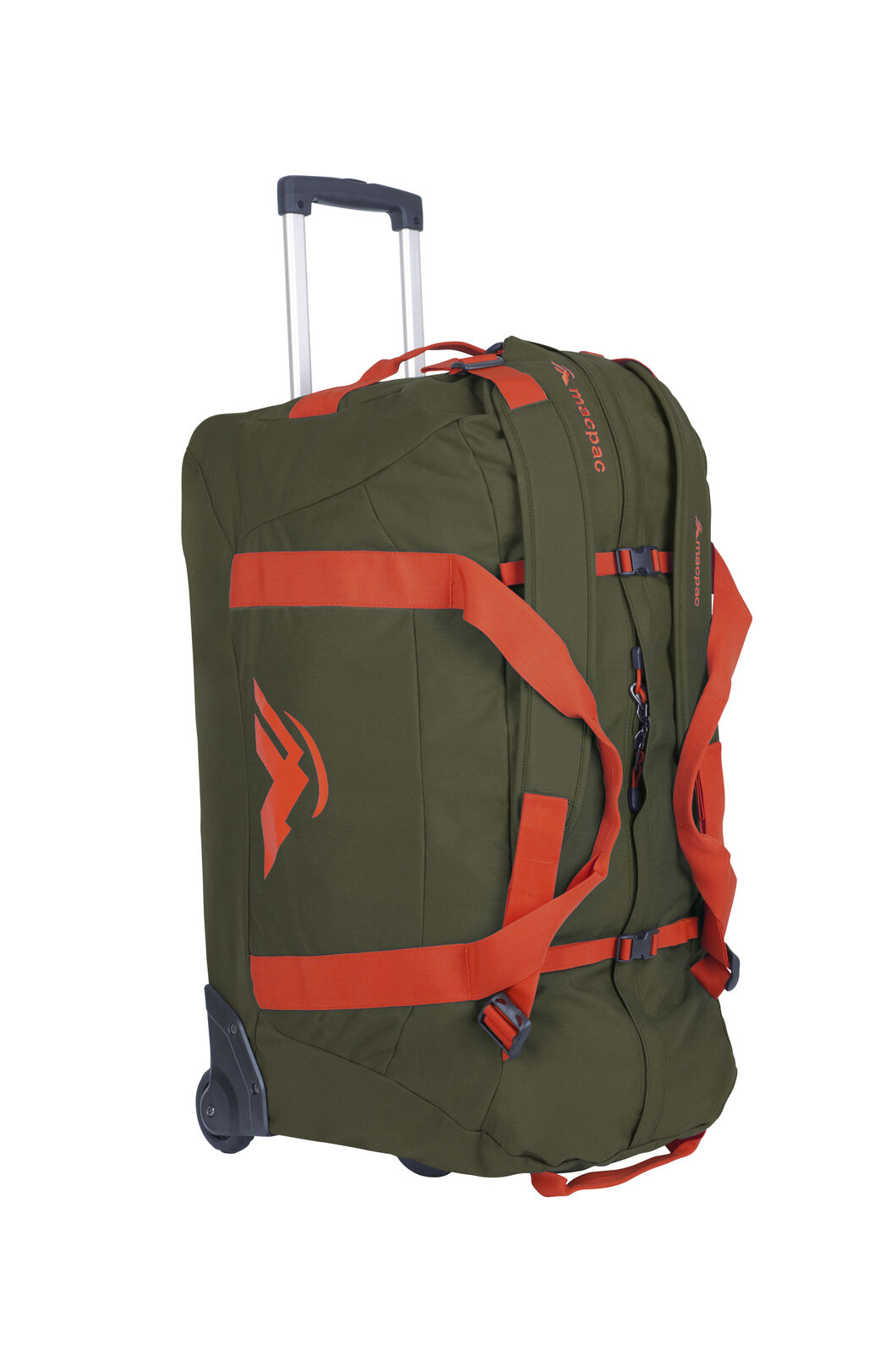 Macpac Wheeled Duffel 120L, Grape Leaf/Puffins Bill, hi-res