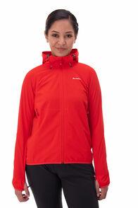 Macpac Mannering Pertex® Hooded Jacket — Women's, Flame Scarlet, hi-res