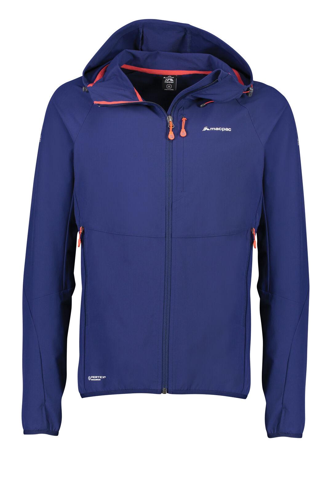 Macpac Mannering Pertex® Hooded Jacket — Men's, Medieval Blue, hi-res