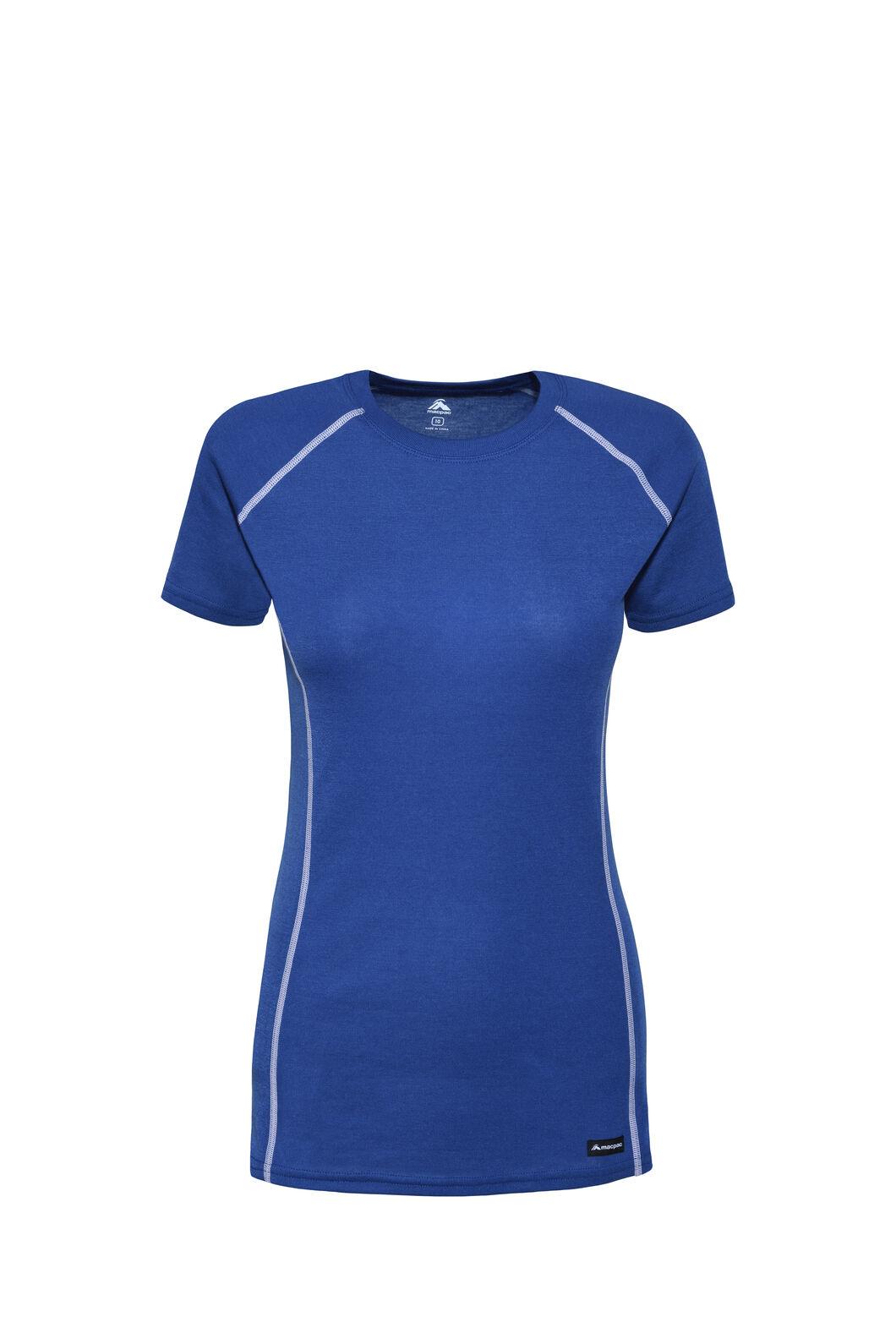 Macpac Geothermal Short Sleeve Top — Women's, Monaco, hi-res