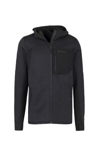 Macpac Triton Merino Blend Hooded Jacket — Men's, Black, hi-res