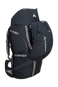 Macpac Genesis AzTec® 85L Pack, Black, hi-res