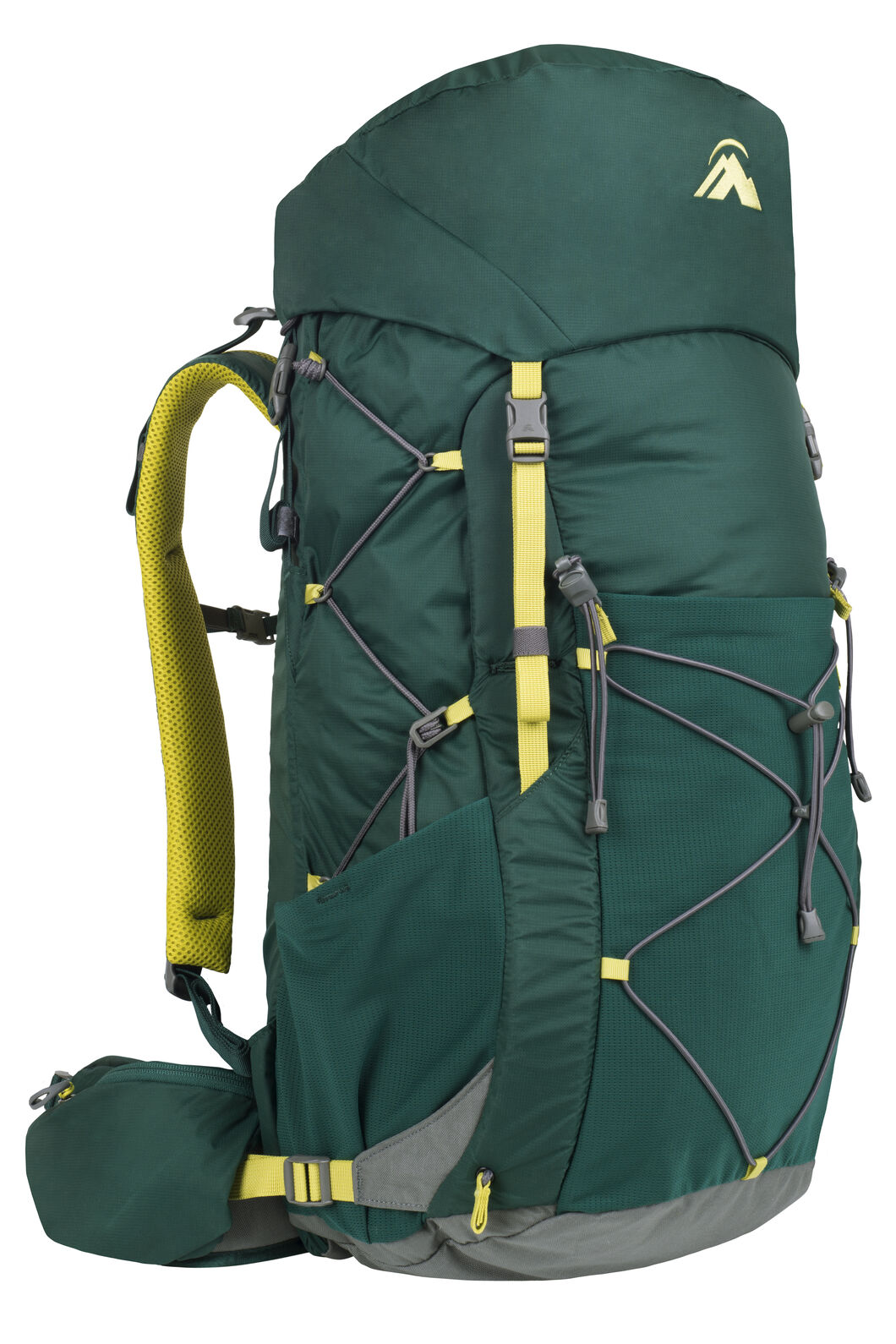Macpac Fiord 1.1 40L Hiking Pack, Botanical Garden, hi-res