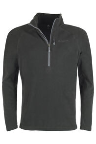 Macpac Tui Fleece Pullover - Men's, Black, hi-res