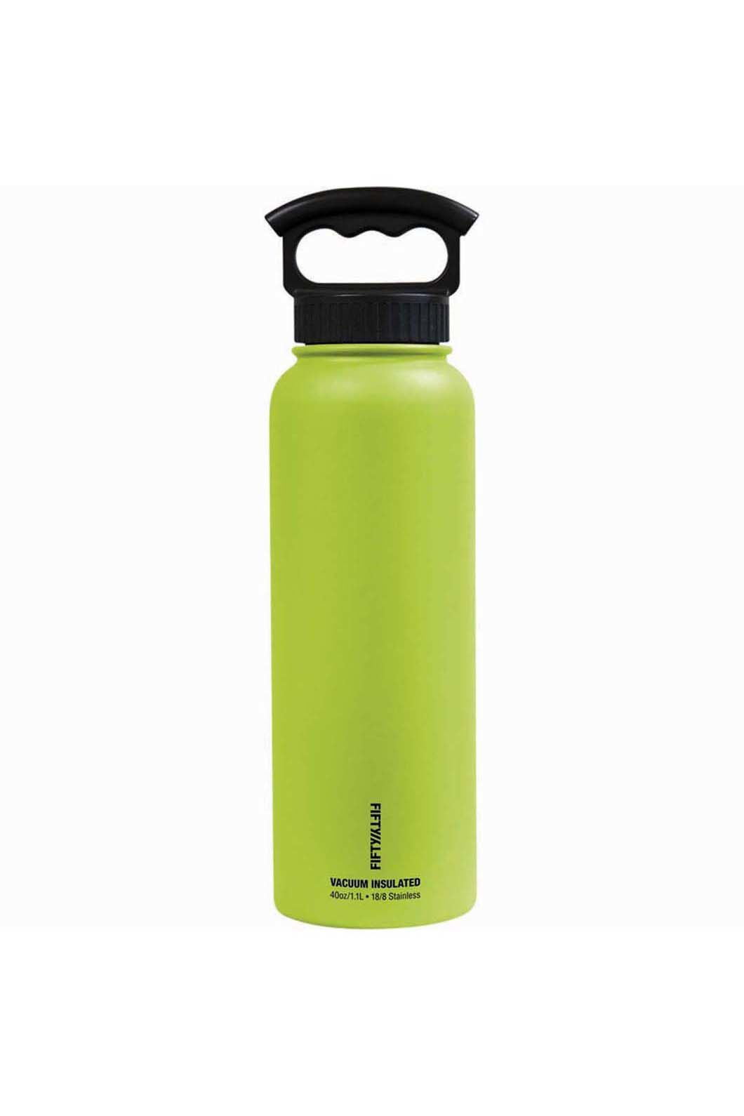 FIFTY/FIFTY® 40oz Insulated Bottle, Lime Green, hi-res